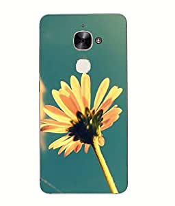 Snazzy Flower Printed Multicolor Hard Back Cover For Letv Le Eco Le 2