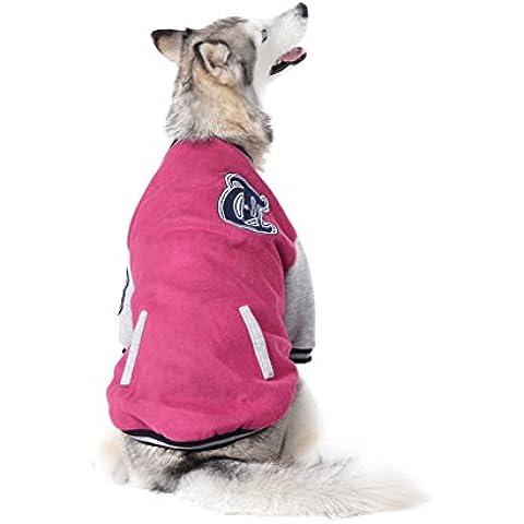 Finerolls invierno Mascota Ropa Perro Gato Cachorro caliente chaleco chaqueta Abrigo Escudo Sudadera béisbol algodón