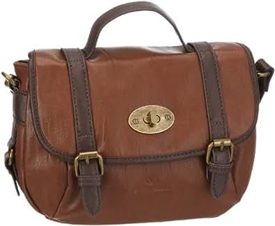 Tom Tailor Acc AMBERLY Handtasche 12116, Damen Henkeltaschen, Braun (braun 29), 26x21x11 cm (B x H x T)