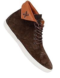 Pointer Chester I015557 - Zapatos de cordones de lona para hombre, color azul, talla 39