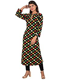 8967ef2524 Dam Woolen Kurtis for Women Winter wear (Woolen Kurti_01_Multicolor_P)
