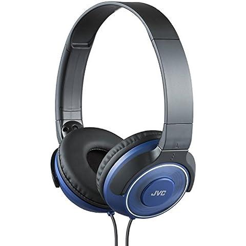 BOOM. Luz suficiente para viajes pero pesados en la Bass. JVC superior sonido auriculares plegables viajes en hielo azul dar un Slam a sus sonidos. Limited Stock venta rápida, comprar el suyo hoy.