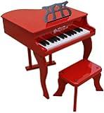Schoenhut 30 Key Fancy Baby Grand Piano (Red)