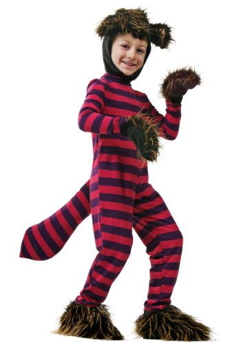 Kid Cheshire Cat Kostüm - Kids Cheshire Cat Fancy dress costume Large