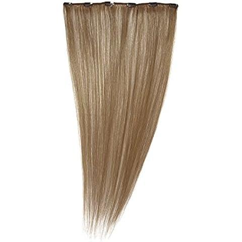 Love Hair Extensiones de clip de pelo natural, color rubio fresa
