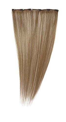 Love Hair Extensions - LHE/A1/QFC12/24/27S - 100 % Cheveux Naturels - Barrette Unique Extensions à Clipper - Couleur 27S - Blond Fraise Léger - 61 cm
