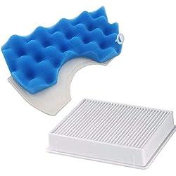 TOOGOO 1pcs Filtre a poussiere Filtre HEPA H11 + 1 Ensemble de filtres hepa Bleus pour Samsung SC4300 SC4470 VC-B710W Pieces Accessoires pour aspirateurs