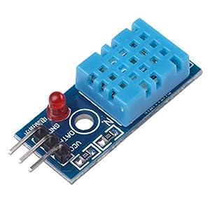 41w6qN3%2BdrL. SS300  - Ecloud Shop® Nueva Temperatura y Humedad Relativa Módulo Sensor DHT11 para Arduino