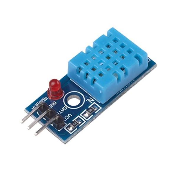 41w6qN3%2BdrL. SS600  - Ecloud Shop® Nueva Temperatura y Humedad Relativa Módulo Sensor DHT11 para Arduino