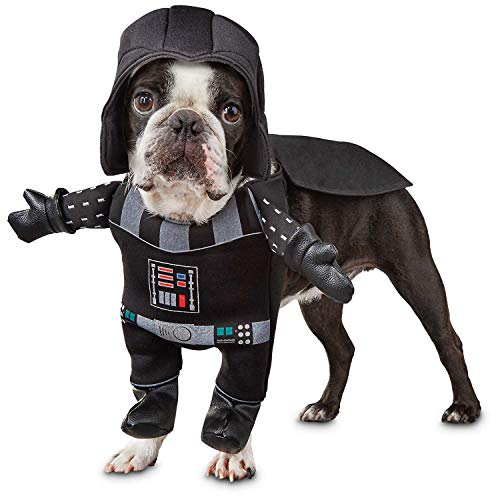 Star Wars Hundekostüm für kleine Hunde – Welpen Halloween Hundekostüm – Darth Vader Kostüm für Hunde – süßes ()