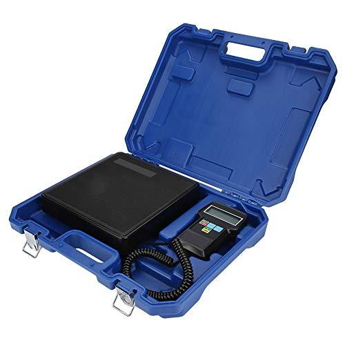 Descripción:   Este producto presenta alta capacidad de carga y alta precisión.    Especificación:   Material: ABS y amp;Hierro  Peso: 3700g / 130.5oz  Rango de pesaje: 0-100KG o 0-220Ibs o 0IB.00.00oz - 220IB00.00oz  Exactitud: 0.05% de la lectura ...
