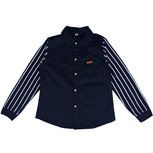 Cuteelf Kinderhemden Big Boy Casual Stripes Herbst Streifen Herrenhemd Tops Teen Baby Kind Boy Langarm Streifen Verschlüsse Gentleman Korean Casual Shirt