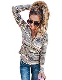 200 Camisa Camuflaje Mujer Eur Amazon es Ropa 100 CBwqXF8