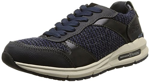 tom-tailor-tom-tailor-damenschuhe-zapatillas-de-material-sintetico-para-mujer-color-azul-talla-38