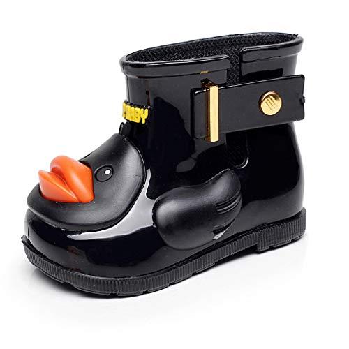 Riou Baby Mädchen Jungen Regenstiefel Nett Cartoon Ente Outdoor rutschfeste Wasserdicht Gummistiefel Rain Boots Schuhe -
