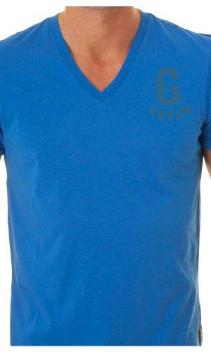 G-STAR Top 84094 Bleu Herren Blau