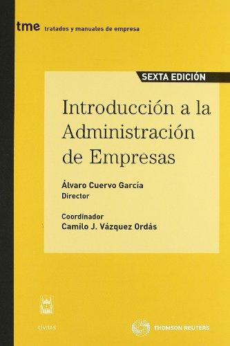 Introducción a la administración de empresas (Tratados y Manuales de Empresa)