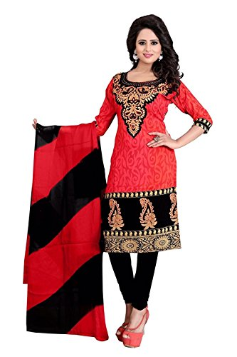 Shiroya Brothers Women's Ethnic Wear Pure Cotton Unstitched Regular Wear Salwar Suits Dress Material