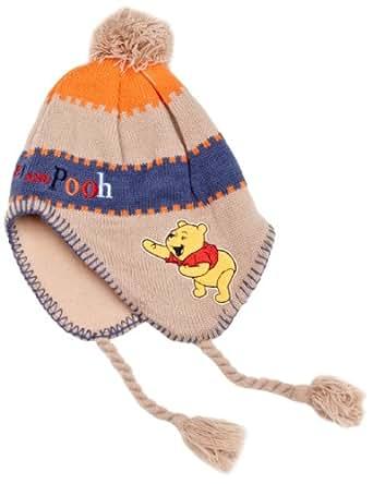 Winnie the Pooh HM4232 Baby Boy's Hats Beige/Orange/Blue 24-30 Months