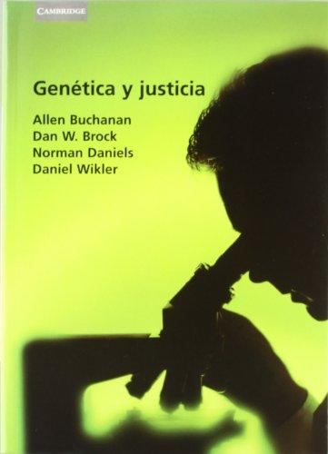 Genética y justicia (Psicología / Filosofía)