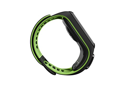TomTom Runner 3 GPS Running Watch with Heart Rate Monitor – Large Strap, Black/Green