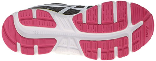 Asics Gel-Zaraca 2 Synthétique Chaussure de Course - Dark Charcoal/White/Neon Pink
