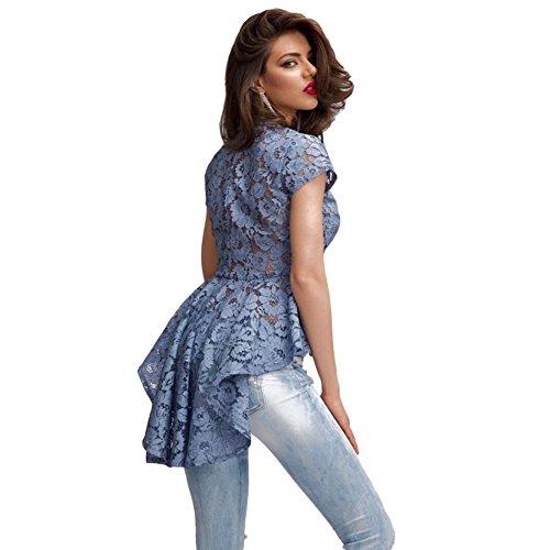 MEINICE - T-Shirt - Femme Bleu
