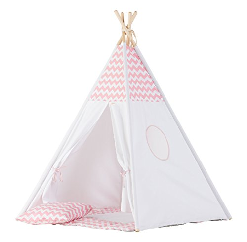 Wigiwama Chevron Teepee Lot, Rose