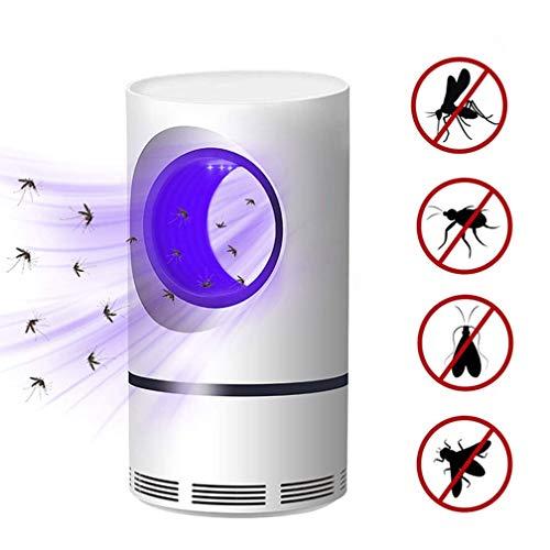 SALAMOPH - Lámpara de Control de Moscas y Mosquitos para Acampada USB, luz Ultravioleta
