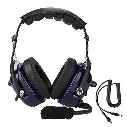 Tangxi Aviation-Kopfhörer, 2 m Aviation-Headset-Ersatzkabel für David Clark AVCOMM Pilot, 1/4-Zoll-Dual-GA-Stecker für Musikbegeisterte