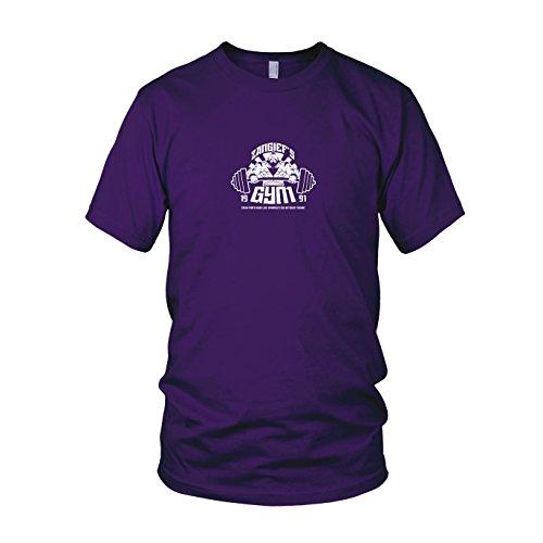 Kostüm Zangief - Zangief's Gym - Herren T-Shirt, Größe: XXL, Farbe: lila