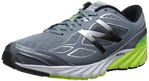 New Balance M870 Synthétique Chaussure de Course Grey / Yellow