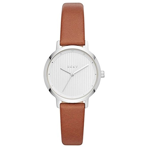 DKNY Womens Analogue Quartz Watch with Leather Strap NY2676 Best Price and Cheapest