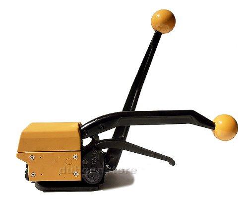Gowe Outil de cerclage manuel en acier Largeur de 13 à 19 mm