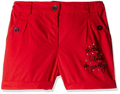 Donuts Baby Girls Shorts (266552603_Red_18M)