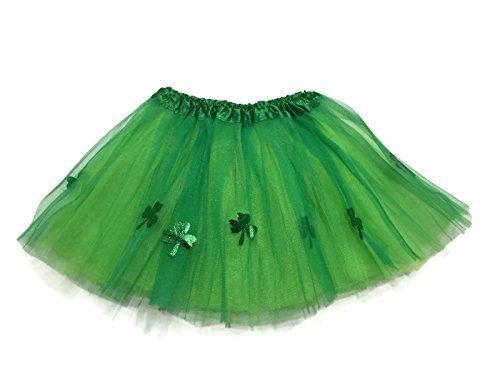 Rush Dance Ballerina St Patrick's Day Shamrock Clover Costume Tutu