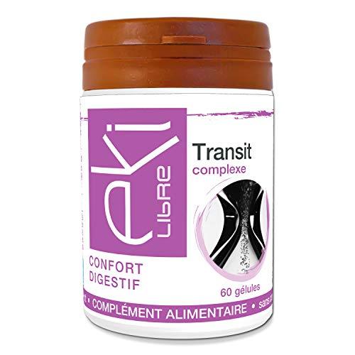 Complexe Transit Constipation |Mauve | Carvi | Rose | Bourdaine | 60 gélules | Confort Digestif |...