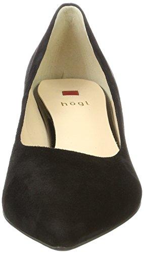 Högl 4-10 4502 0100, Scarpe con Tacco Donna Nero (Schwarz)