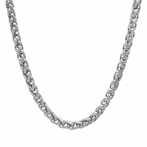 4mm-durable-solid-stainless-steel-rounded-wheat-chain-necklace-75-cm