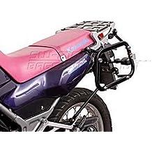 Maletín de tirantes Quick Lock Evo. Negro. Kawasaki KLE 500