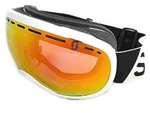 Scott - Masques de ski snowboard - Off-grid - White Red chrome - Masques de Ski