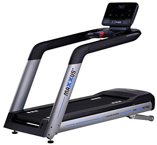 MAXXUS Profi Laufband RunMaxx 90 Pro, 4PS AC Motor, XXXL-Lauffläche, Bluetooth APP-Steuerung, 22km/h, 15% Steigung, perfekte Dämpfung