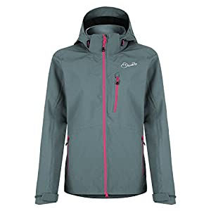 Dare 2B Giacca impermeabile giacca Shell Veracity II, donna, Veracity II, Aluminum Gry, Dimensione 8