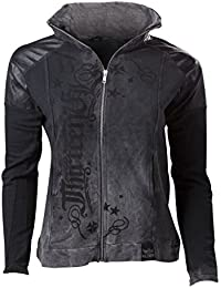 Alchemy AEA ZIP Swearshirt 'Natural born sinner' gray calipo - M