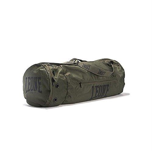 LEONE 1947 Commando, Borsone Unisex - Adulto, Verde, U
