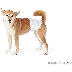 AmazonBasics - Pañal desechable para perro macho, L, paquete de 30 unidades