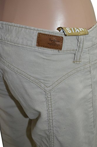 DESTOCKAGE DE JEANS DE MARQUES Damen Hose beige braun W27 Beige