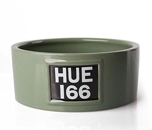 Price comparison product image New Genuine Heritage HUE 166 Green Ceramic Dog Bowl 51LDPT788GNA