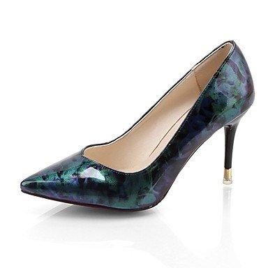 RTRY Donna Luce Tacchi Suole Pu Abiti Estivi Stiletto Heel Rubino Blu 2A-2 3/4In US7.5 / EU38 / UK5.5 / CN38