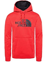 The North Face Hoodie Sudadera con Capucha Surgent Halfdome, Hombre, TNF Red, L